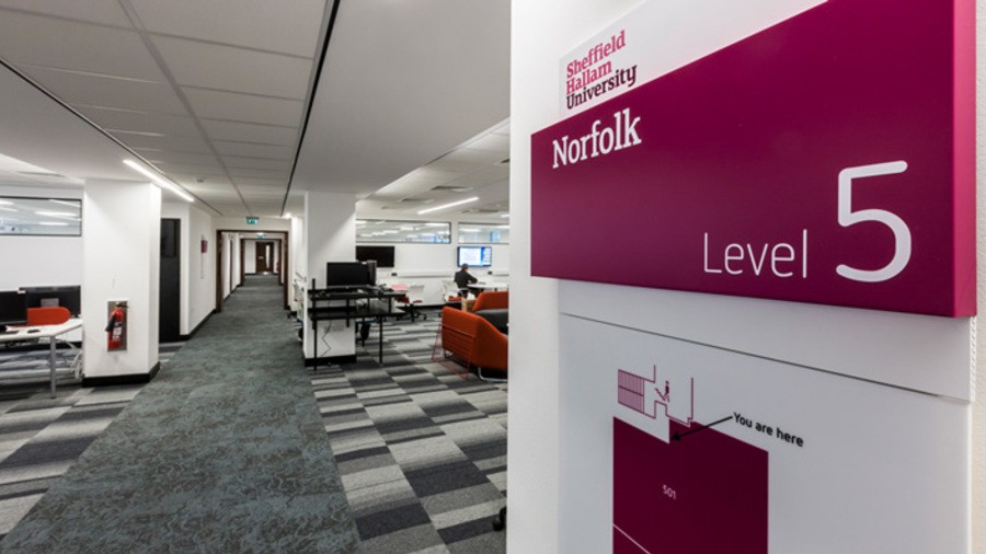 Sheffield Hallam University MERI refurbishment