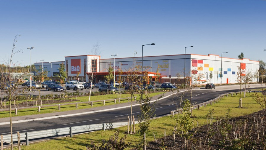 B&Q, Northfields Retail Park