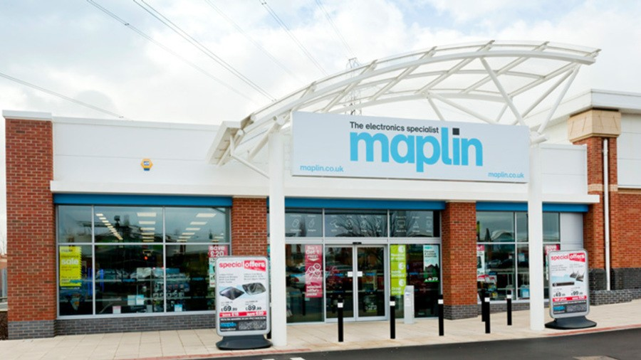 Maplin Electronics, Drakehouse Retail Park