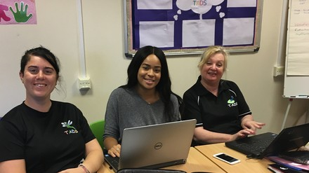 Laptop donation supports Barnsley wellbeing centre