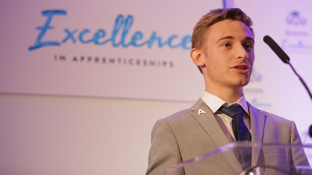 Trainee shortlisted at Inspirational Student Awards