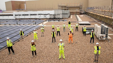 'Unprecedented' community output recognised as part of CCS Gold Award win