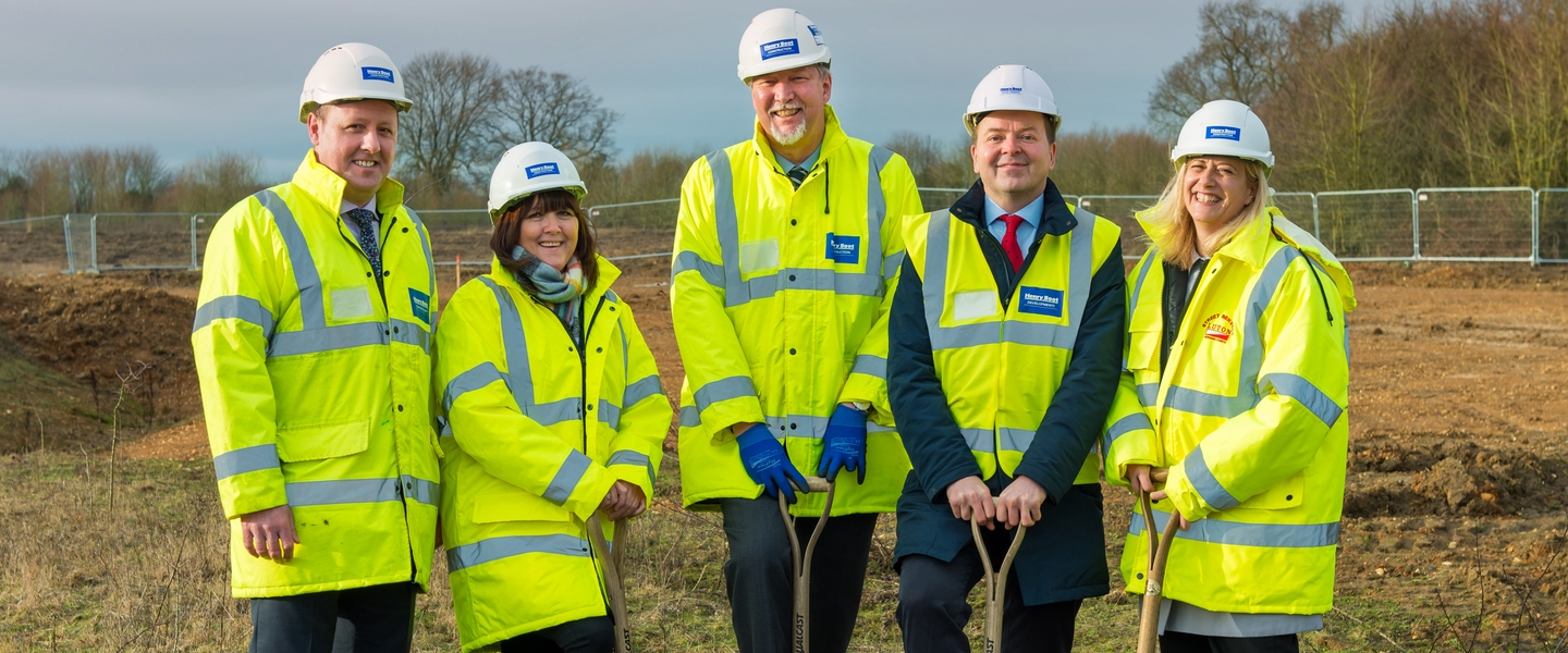 Ground-breaking event at Butterfield Business Park
