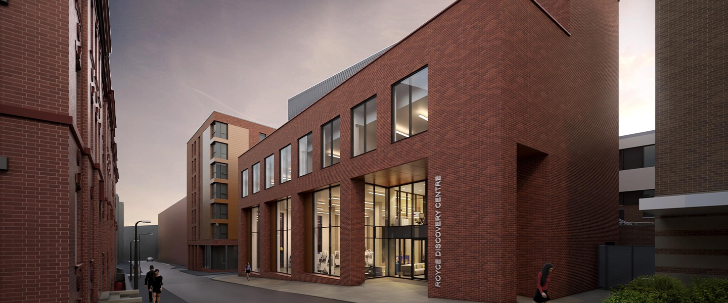 Royce Discovery Centre CGI created by Bond Bryan Architects