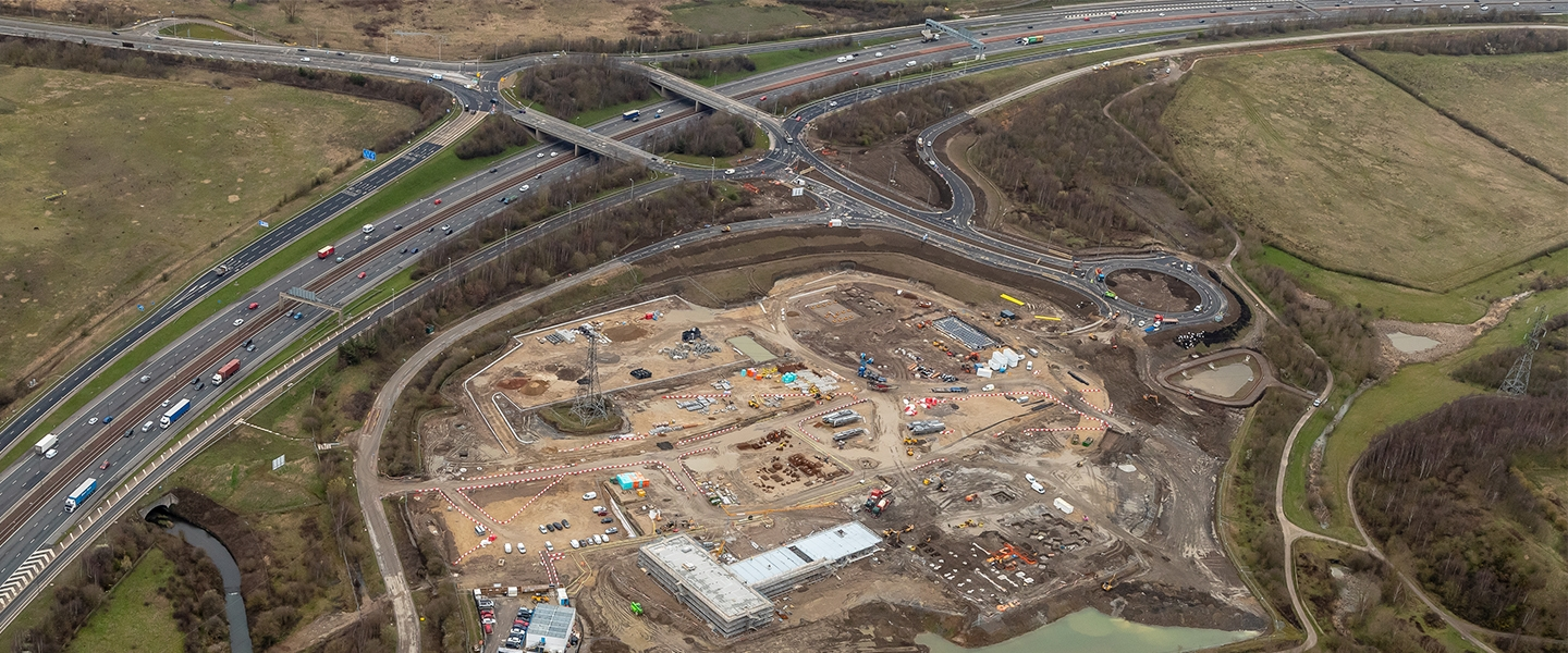 Works have taken approximately 11 months to complete, providing safe access and exit for the ongoing construction