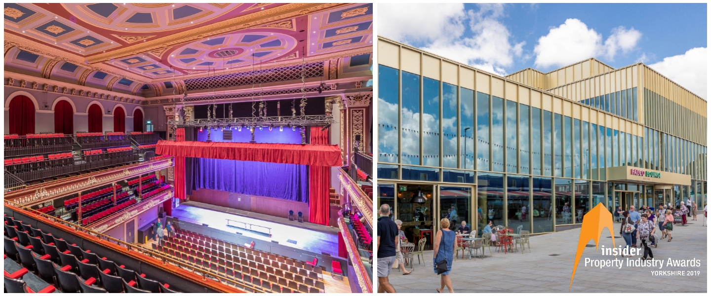 Our shortlisted projects are: St George's Hall, Bradford and The Glass Works