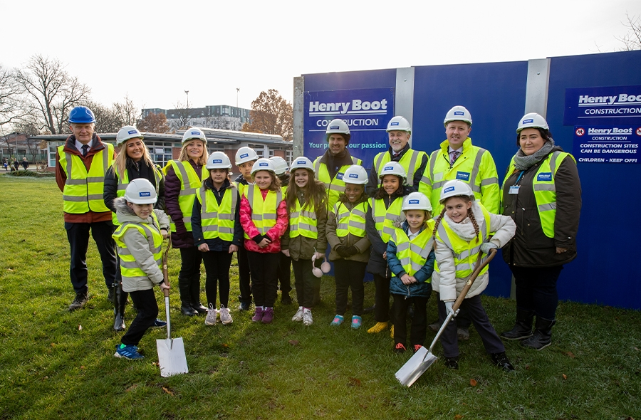 During the ground-breaking ceremony, which was attended by representatives from Leeds City Council, the Leeds Local Education Partnership, NPS Leeds, Henry Boot Construction Limited and Beeston Hill St Luke's Primary School